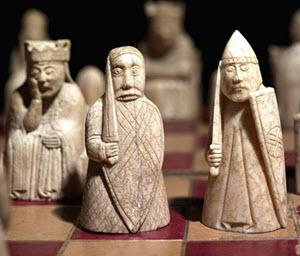 gammalt schack